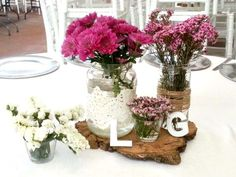 Centros de mesa #wedding #bodas #flores www.mirkaeventos.com #sevilla