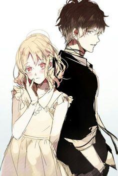 Diabolik Lovers_Yui Komori, Ruki Mukami.