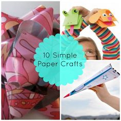 Paper Party: 10 Simple Paper Crafts | Spoonful