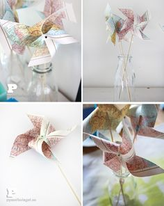 Easy Crafts For Kids and Parents - Pysselbolaget - Fun Easy Crafts for Kids and Parents Fun Easy Crafts, Easter Crafts For Kids, Cute Crafts, Crafts To Make, Happy Birthday, Scrapbooking, Pinwheels, Hobbies And Crafts, Diy Party