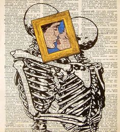 Pop art, comic book art, skeleton pop art.