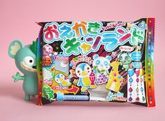 This month's Kawaii Box contains DIY Candy and much more! Click through for a review on kao-ani.com (^_^)