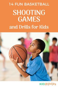 A collection of fun basketball shooting games and drills. Use them in the gym or on an outdoor basketball court. #KidActivities #KidGames #ActivitiesForKids #FunForKids #IdeasForKids Basketball Shooting Games, Basketball Drills For Kids, Basketball Pictures, Basketball Coach, Basketball Birthday, Gym Games For Kids, Outdoor Games For Kids, Activities For Kids, Physical Education Games