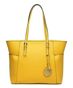 Look what I found on #zulily! Yellow Cody Tote by Amore #zulilyfinds