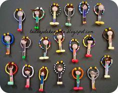 Taitoa ja tekemistä Popsicle Art, Winter Holidays, Handicraft, Activities For Kids, Diy And Crafts, Presents, Teacher Stuff, Students, Hands