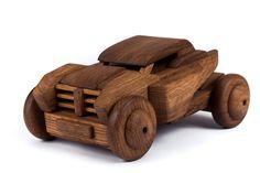 Wooden dakar car. Oak covered with oil от 7WoodenDreams на Etsy