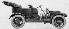 1910 Franklin Model D Touring Car Four-cylinder, 28-horse-power
