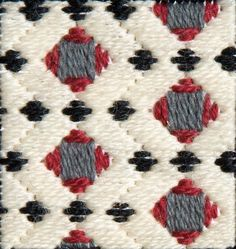 Stitch 71 - Diagonal Brickwork