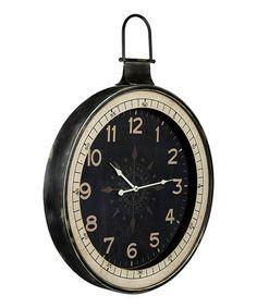 Look at this #zulilyfind! Compass Rose Wall Clock #zulilyfinds