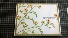 Scrap & Stamp Creations: 2/17 Ustream Class Cards and Video