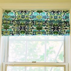 s 15 designer tricks to get pinterest worthy curtains, home decor, window treatments, Turn blinds into roman shades with fabric