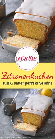 Dieser Zitronenkuchen ist besonders saftig und vereint süß und sauer in einer … This lemon cake is particularly juicy and combines sweet and sour in a perfect combination. Vegan Lemon Cake, Vegan Cake, Lemon Desserts, No Bake Desserts, Baking Recipes, Cake Recipes, Lemon Cheese, Mousse Dessert, Coffee Cake