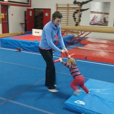 I've been making a really big effort lately to improve the recreational program at my gymnastics club. My area of focus the past few weeks has been our Kinder Gym Program, which is basically …
