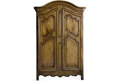 This is not exactly my favorite 'era', but it reminds me so much of my grandmother's armoire growing up.  RALF'S ANTIQUES  19th-C Armoire  $13,999.00  $24,800.00 Retail