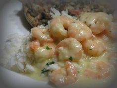 Garlic prawns just like you get in a restaurant. Garlic Prawn Pasta, Creamy Garlic Prawns, Creamy Garlic Chicken, Beef Recipes For Dinner, Vegetarian Recipes, Cooking Recipes, Vegetarian Barbecue, Barbecue Recipes, Oven Recipes