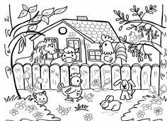 Farm Animals, Animals And Pets, Snoopy, Comics, Fictional Characters, Hand Embroidery, Animales, Coloring Pages, Pets