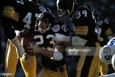 News Photo : Pittsburgh Steelers Mike Wagner victorious during...