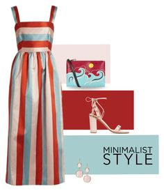 """""""Bare Minimum . . ."""" by kateo ❤ liked on Polyvore featuring RED Valentino, Rivka Friedman and 6553"""