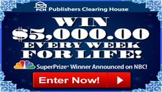 Win $5000 a WEEK For Life in PCH #Sweepstakes | Ends 1/3