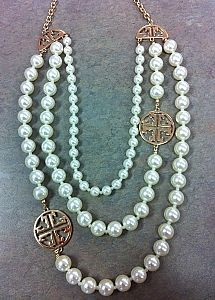 f64461caf64 Cross and Pearl NEcklace  30
