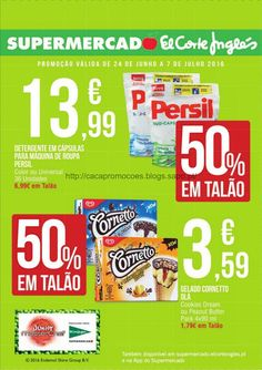 Promoções Supermercado El Corte Inglês - Antevisão Folheto 24 junho a 7 julho - http://parapoupar.com/promocoes-supermercado-el-corte-ingles-antevisao-folheto-24-junho-a-7-julho/