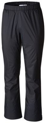 Columbia Storm Surge Rain Pants for Ladies - Black - XL