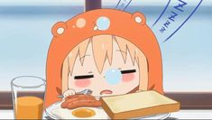Pinned onto Himouto! Umaru-chan Board in Anime Favorites Category Himouto Umaru Chan, Umaru Chan Gif, Kawaii Anime, Moe Anime, Manga Anime, Anime Art, Kawaii Girl, Anime Chibi, Dormir Gif