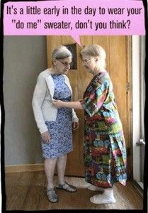 Frumpy Fashion. What You Should Not Have in Your Closet at Any Age #humor #midlife #laugh-lines.net