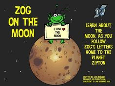 Make learning about phases of the moon fun and easy with these letters written by Zog the alien back to his people on Zipton. As Zog writes, he explains all about the phases of the moon!
