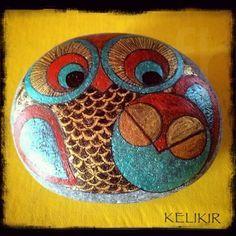 mommy n bebe taken . sold . gone😢 . . . . #owlsofinstagram #owlobsession #owlcollection #owleverywhere #owl #owlsofinstagram #owladdict #owldrawing #owl #stonepainting #rockpainting #rockart #buhos #art #owlart #tasboyamasanati #acrylicpainting #tasboyama #tastasarim #pebbleart #stoneart  #artcomplex #artsanity#art_4_shoutouts#arts_help#supportart #beautiful_stones #tasboyama