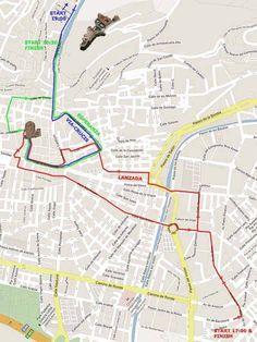 Google Earth Map Of Spain.Running Of The Bulls Map Google Earth Spain Pamplona Running