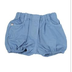 Ljusblå shorts från Petit Bateau