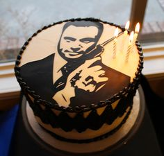 James Bond cake - Michelle's Party Plan-It: He's Aged to Perfection
