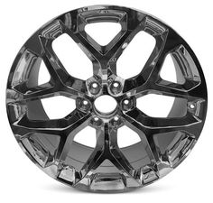 25 Chrome Wheels Silverado Sierra Yukon Suburban Escalade Denali Set of 4 New LTZ Tahoe 26x9.5 6X139.7