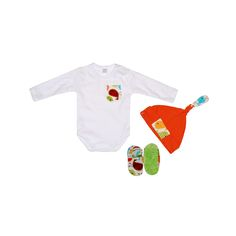 Komplecik niemowlęcy PTASZKI 3 in 1 Baby Gift Set Birds https://fiorino.eu/