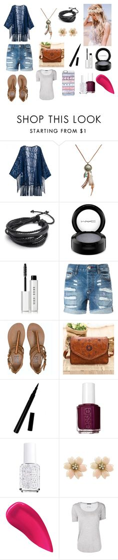 """""""Unknown#37"""" by jesscs ❤ liked on Polyvore featuring Wet Seal, MAC Cosmetics, Bobbi Brown Cosmetics, Philipp Plein, Billabong, Vintage Kiss, Essie, Kevyn Aucoin, ATM by Anthony Thomas Melillo and Casetify"""