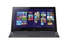 Sony VAIO Duo SVD13215PXB 13.3-Inch Convertible 2 in 1 Touchscreen Ultrabook (1.8 GHz Intel Core i7-4500U Processor, 8GB DDR3, 256GB SSD, Windows 8 Professional) Carbon Black Sony http://www.amazon.com/dp/B00CRXZZIA/ref=cm_sw_r_pi_dp_HbFYwb1BZM0JN