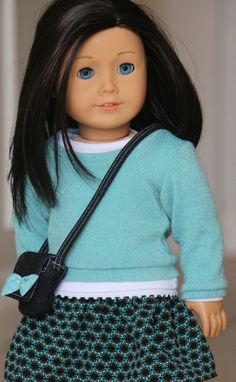 American Girl Doll Clothes fits 18 inch Dolls. by NoodleClothing