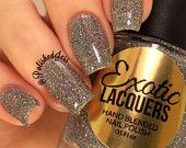 CRUSHED DIAMONDS -Holographic topper and polish from Exotic Lacquers
