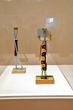 "Works from ""Picasso Sculpture"" at MoMA - TSculptures in the gallery Boisgeloup Sculpture Studio, 1933-1937."