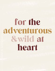Quote for adventurers: earth-tone graphic design inspiration with bold serif typography