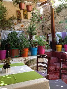 Restaurant garden #Rethymnon old town #Crete 2014