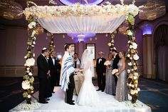 Elegant Russian Jewish Wedding in NJ Pinterest • The world's catalog of ideas