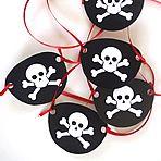 Pirates & Crossbones Halloween FREE: Hats, Name Card Ships & Pirates Eye Patch - Download & Print
