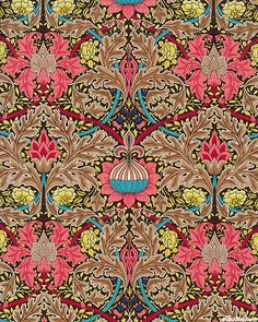Arts and crafts For Kids New Years - - Arts and crafts Design William Morris - Arts and crafts Ideas For 2 Year Olds - William Morris Wallpaper, William Morris Art, Morris Wallpapers, Arts And Crafts For Teens, Art And Craft Videos, Arts And Crafts House, Easy Arts And Crafts, Art Nouveau, Art Deco