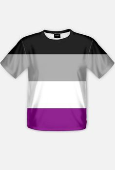 Asexual flag - full print t-shirt! #asexuality #ace #asexual You can get it here: https://blibli.cupsell.com/product/2256647-product-2256647.html And here is other merchandise with the same design (also full print): https://blibli.cupsell.com/k/asexual-flag