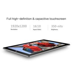Amazing CHUWI Hi10 Pro 10.1 inch Windows 10/Android 5.1 Dual Boot 2-in-1 Tablet PC,featuring Intel X5 Processor,4GB RAM/64GB ROM,FHD Screen(1920x1200) with Type C,HDMI and Stylus support