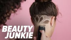 """Undercut Tattoos are Back, So Get Shaving: Tattoos make a statement, and undercuts are the chicer form of """"business in the front, party in the back. Undercut Long Hair, Undercut Hairstyles, Undercut Pompadour, Female Undercut, Undercut Girl, Undercut Ponytail, Nape Undercut, Shaved Undercut, Undercut Women"""