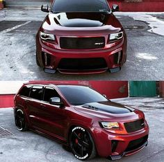 About broke my neck jerking it towards this monster rolling behind me. Jeep Srt8, Jeep Grand Cherokee Srt, Automobile, Badass Jeep, Lux Cars, Custom Jeep, Dodge Journey, Vw Touareg, Sport Cars