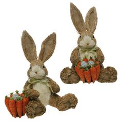 RAZ Easter 11.5 inch Sitting Bunny  shelley b home and holiday
